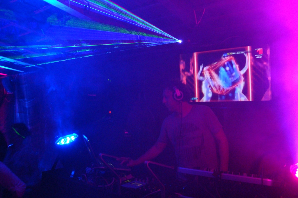 laser multicolor @ WET DANCE EXPERIENCE 2